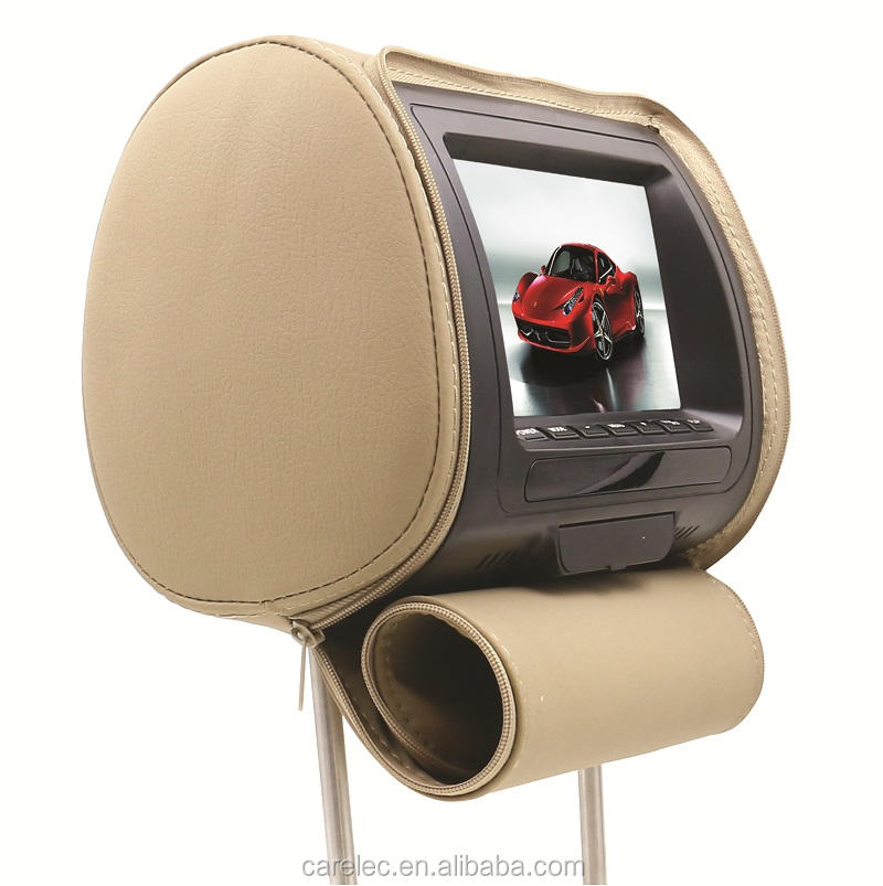 "7"" Detachable TFT LCD Panel headrest AV with Remote Control Function"