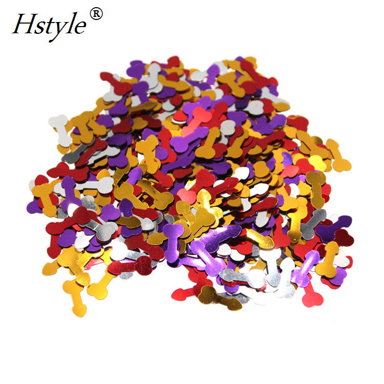 Romantic Confetti Bachelorette Party Hens Night Willy Pecker Penis Confetti Scatters wedding Decoration Party Supplies SVPD051