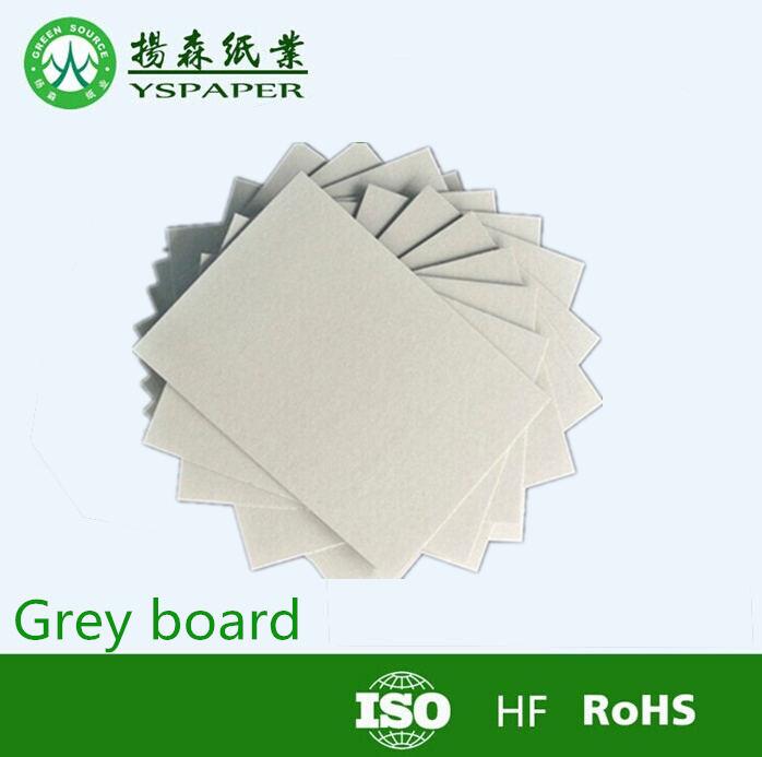 papel de gran cantidad de stock de gris laminado hojas de tablero