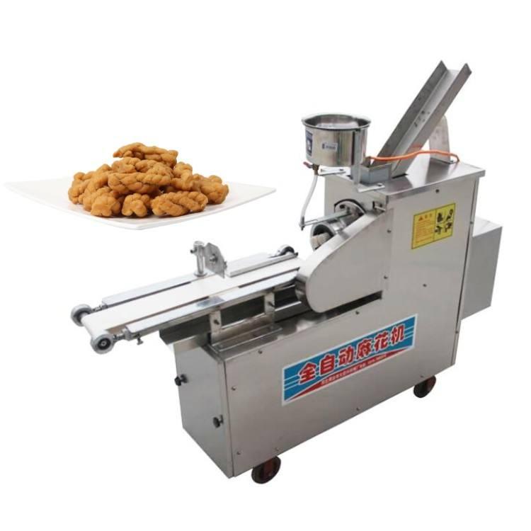 2018 Hot selling automatic Oil Spraying Dough Twisting Cutting Machine