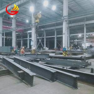Light H shape steel beam and column used for steel structure building/workshop/warehouse/frame