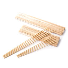 Bamboo Marshmallow Roasting Sticks Disposable bbq Stick