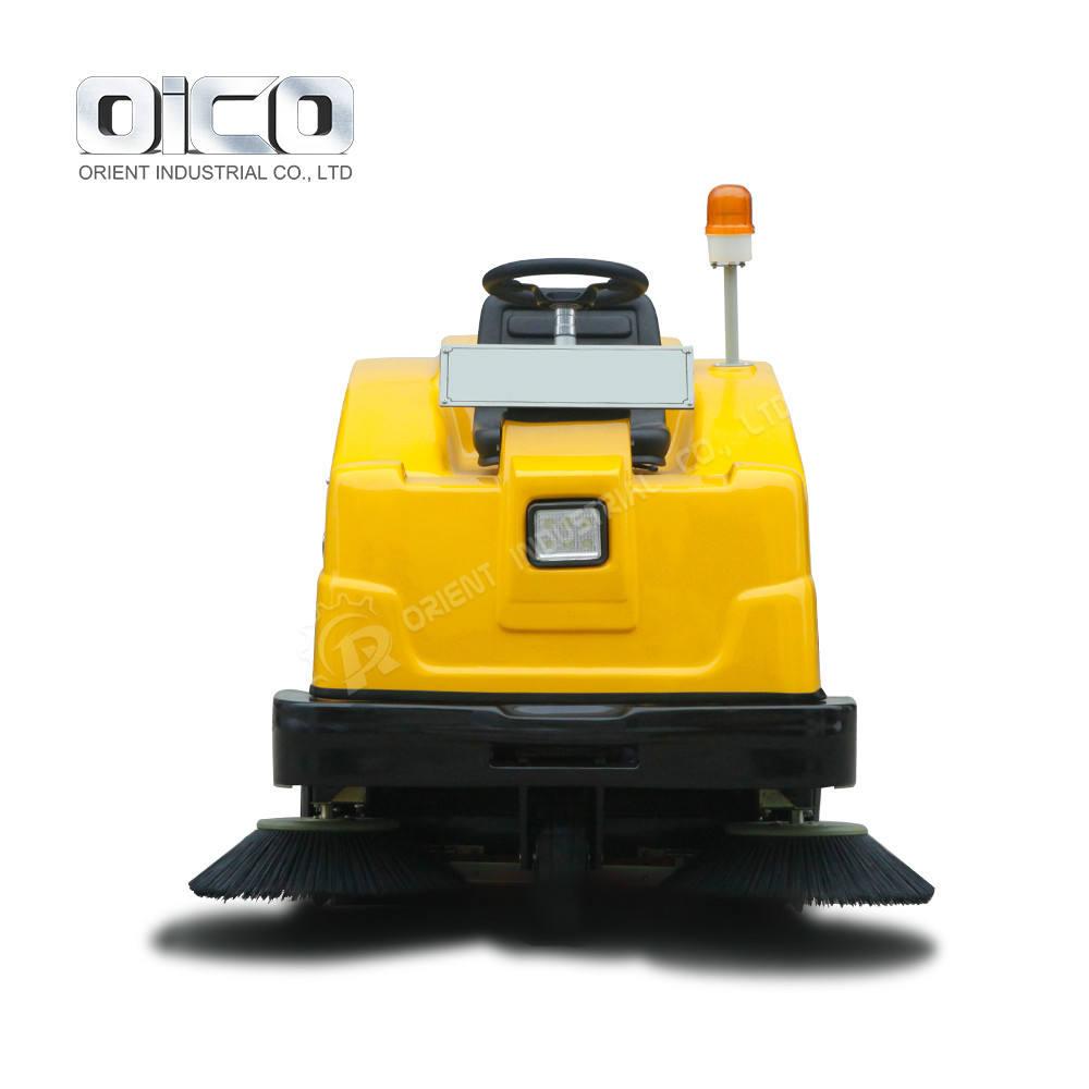 C350 precio barredora vial Electricidad Street Sweeper, barrenderas conducción eléctrica, barrendero de la batería barrendero