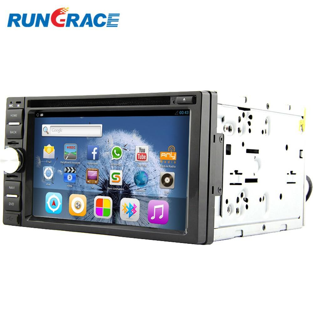 Plug and play 12 V dual-zone swc bluetooth wifi 4g gps auto lettore dvd per auto