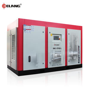 270Hp 200Kw 7Bar 34.5m3/min น้ำ Cooling Industrial Screw Air Compressor สำหรับกรองกด
