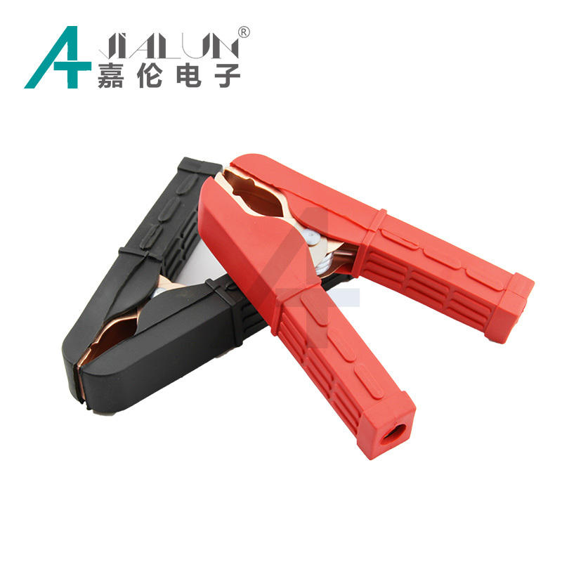 JIALUN Car 100A Battery Terminal Alligator Crocodile Clamp Clip