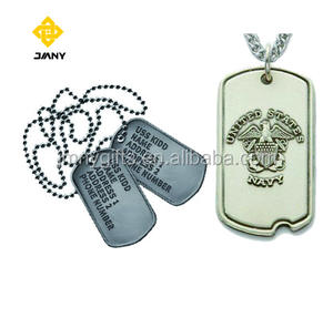 militaire metalen dog tag goede kwaliteit