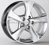 Vente chaude 17 pouce 5*100 alliage roue/NISSAN réplique roue jante