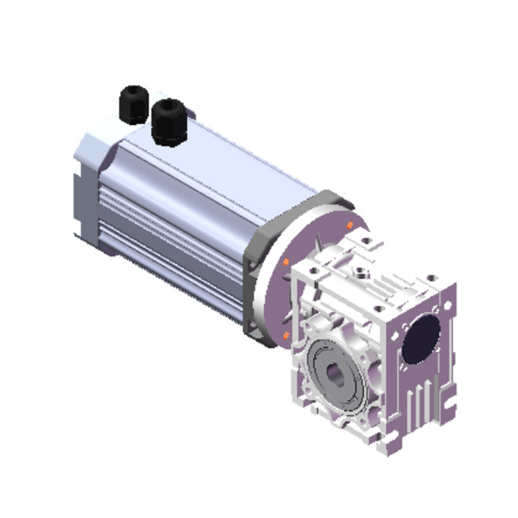 HFM006 8NM 200RPM 48Vdc 48V 400W 1500RPM BLDC Worm Gear 7.5 brushless dc motor with driver