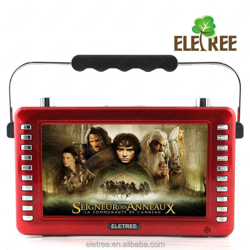"7"" hd screen lcd media players for promotion EL-133A"