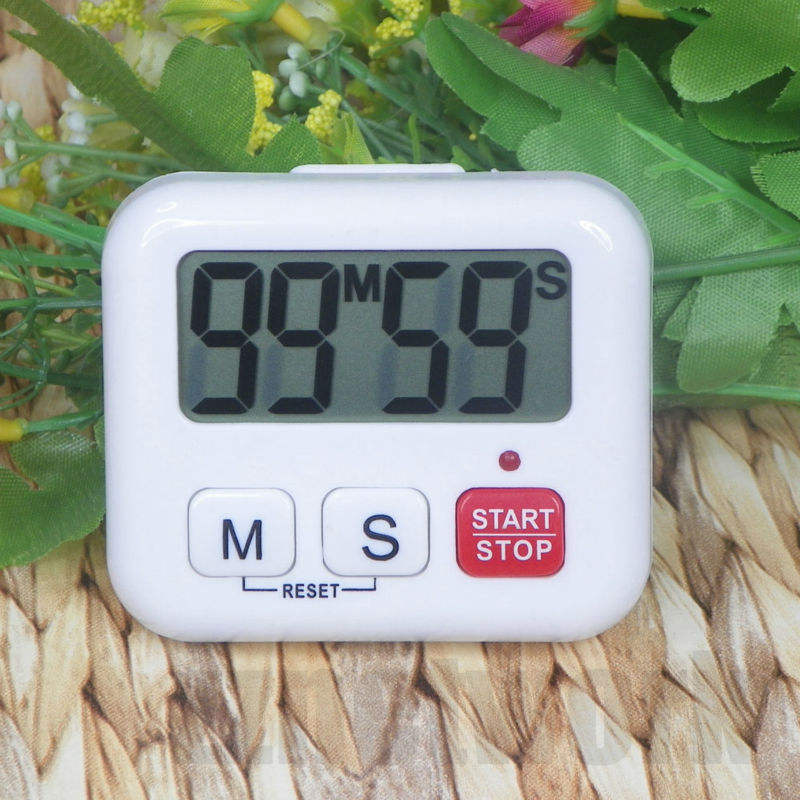 Kitchen Clock Timer Cooking 99 Minute Digital LCD Sport Countdown Calculator