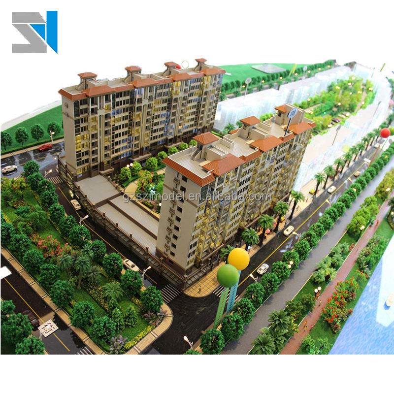 China real estate display model supplier, acrylic construction scale model