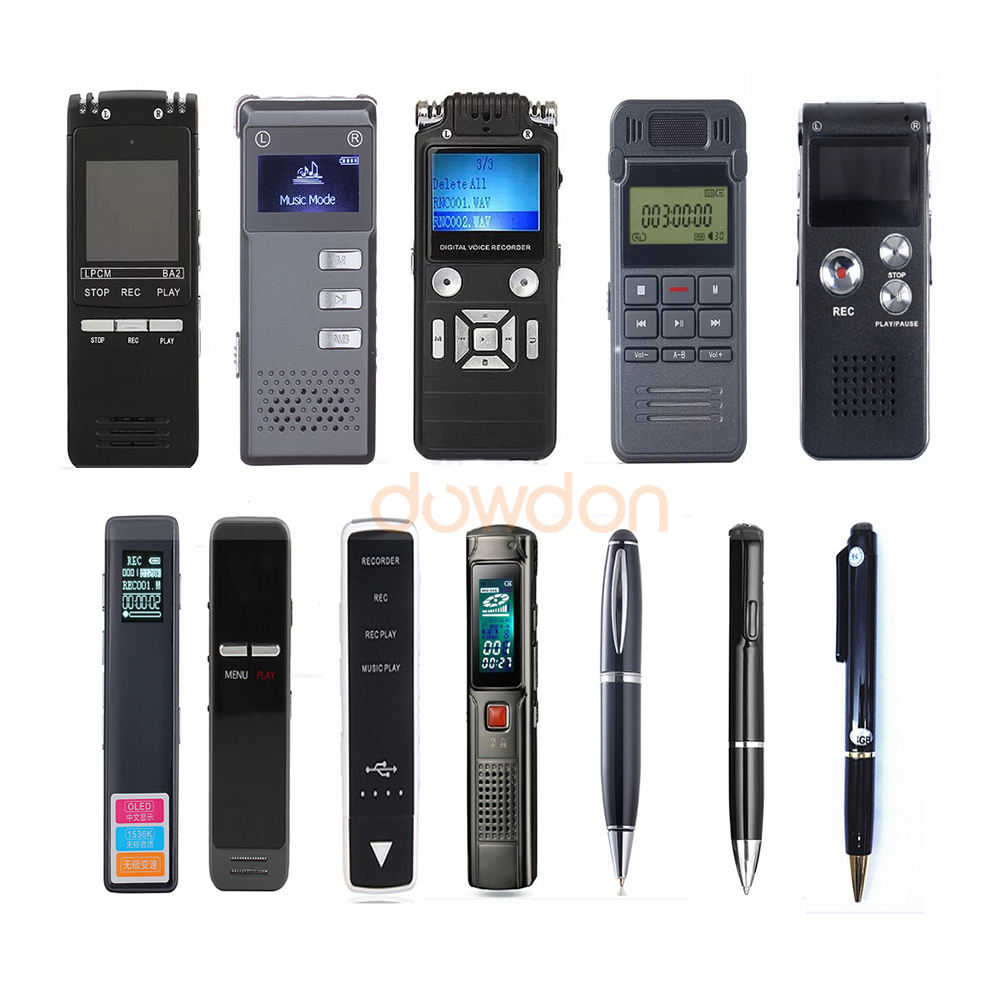 Produttore professionale USB Voice Recorder 8 GB 4 GB Digital Audio Recorder Pen