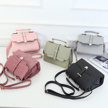 2019 Hot Sale Fashion Mini Shoulder Bag PU Leather Women Messenger Bag Wholesale Handbag Crossbody Bag