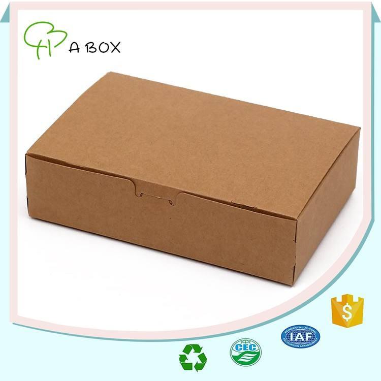 China fabricante de papel revestido retângulo caixa de papel de dobramento