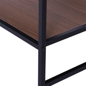 Modern Studio Collection TV Media Stand/Table/Good Design Award Winner with 20 Inch Square Side/End Table/Coffee Table