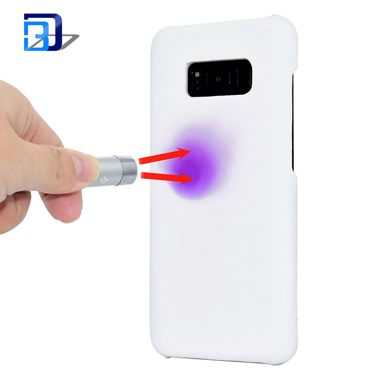Light sensitive phone case UV detection color change cell phone cover for samsung galaxy s8