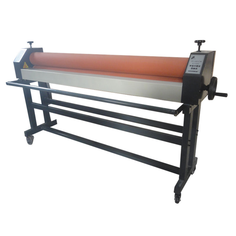TS1600H Heavy duty 160cm manual cold laminator 1600 with stand