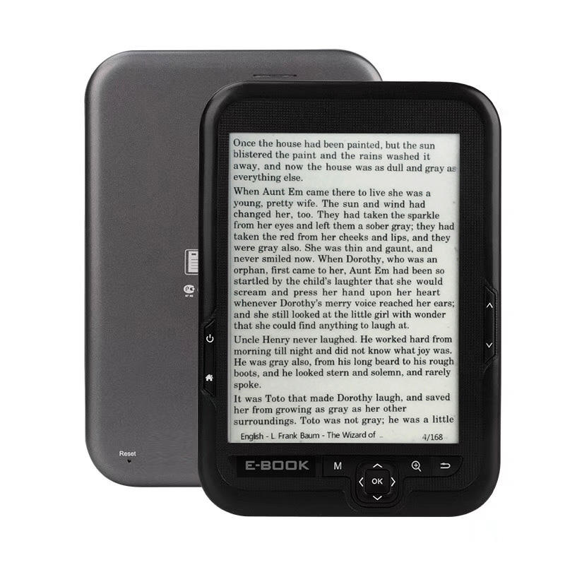 16GB 6 inch e-book reader 1024x758 High resolution display Support card Expansion Eye protection ebook readerd