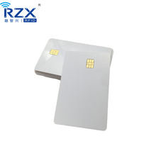 High Quality No Printing Standard CR80 PVC Plastic White Blank Chip Card