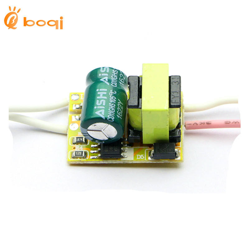 LED power supply design led driver 1W 2W 3W Constant current drive built-in power supply for ball light