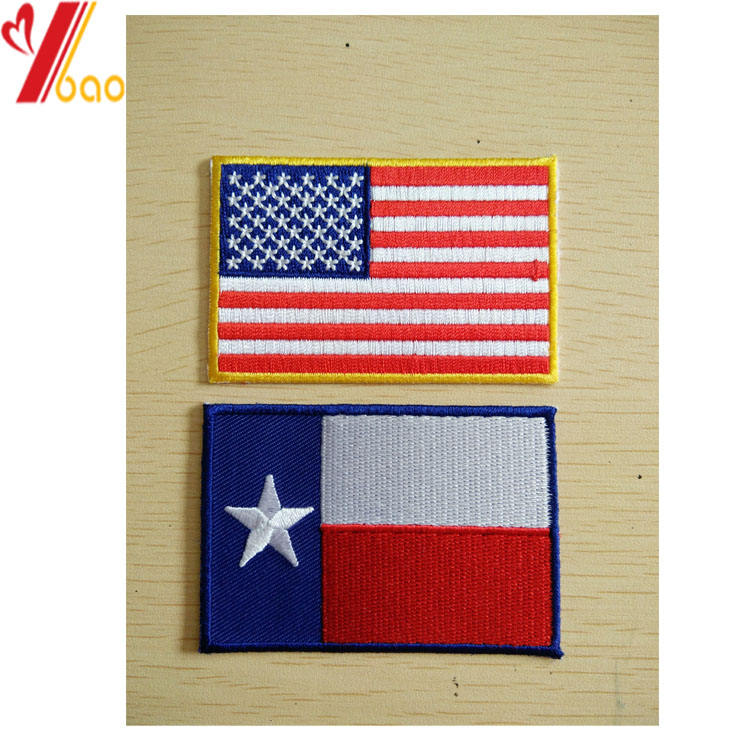 Iron On Packaging Customization Custom Logo Shoulder Sleeve Insignia Twill Fabric Embroidery Patch For Soldiers Uniforms Wholesale No Minimum
