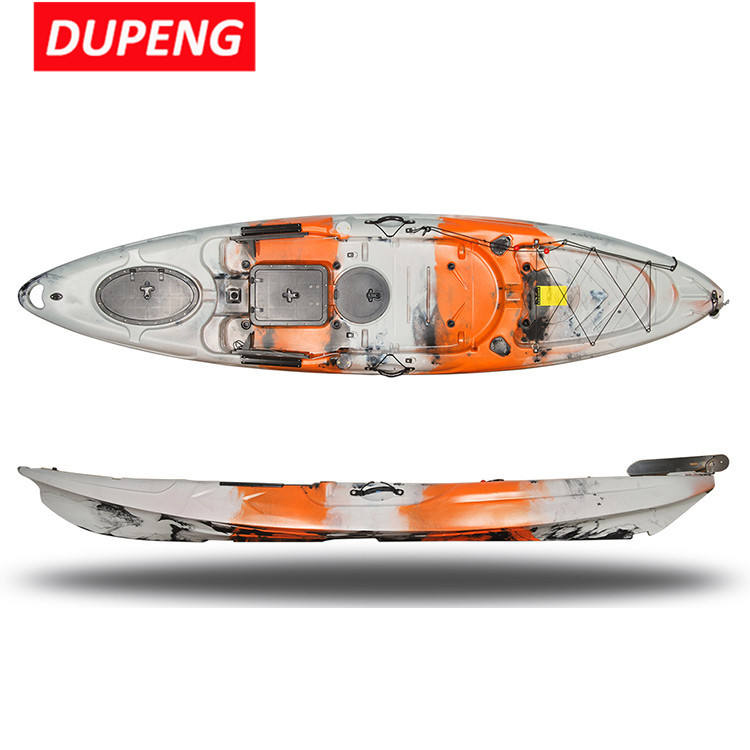 2019 New Arrival Lldpe Material 3.5 M Australia Sit On Top Fishing Kayak With Pedals