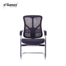 office meeting room chair lumbar support height adjustable mid back visitor chair