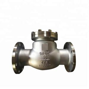 DN125 PN16 Precision Casting CF8 Single Disc Swings Check Valve