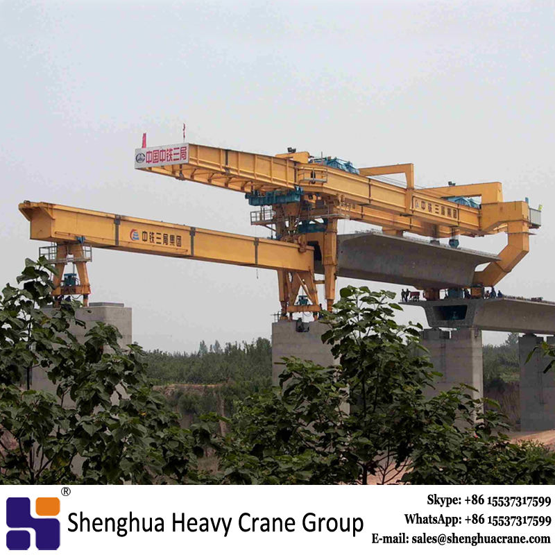 Best price high speedway bridge girder launching erection gantry crane equipment