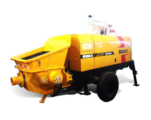 SANY HBT5008C-5S New 50m3/h Concrete Trailer Pumps