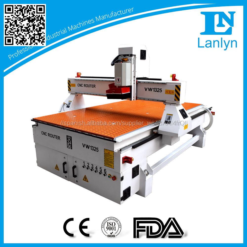 Refrigeración por aire cnc router 1325 CNC talla máquina 4.5kw precio