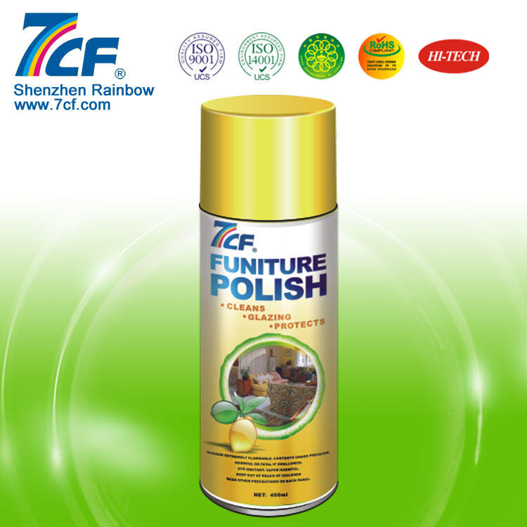 Furniture polish 7cf funiture care wax wood spray
