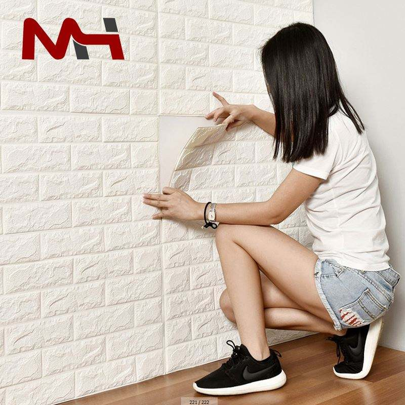 Promotional New 3D Brick Wallpaper New York 3D Brick Wallpaper For Kitchen With Waterproof Moisture Heat Resistant Designs