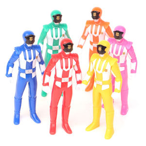 Fabrikant 6 pcs make custom collectibles pvc action figure
