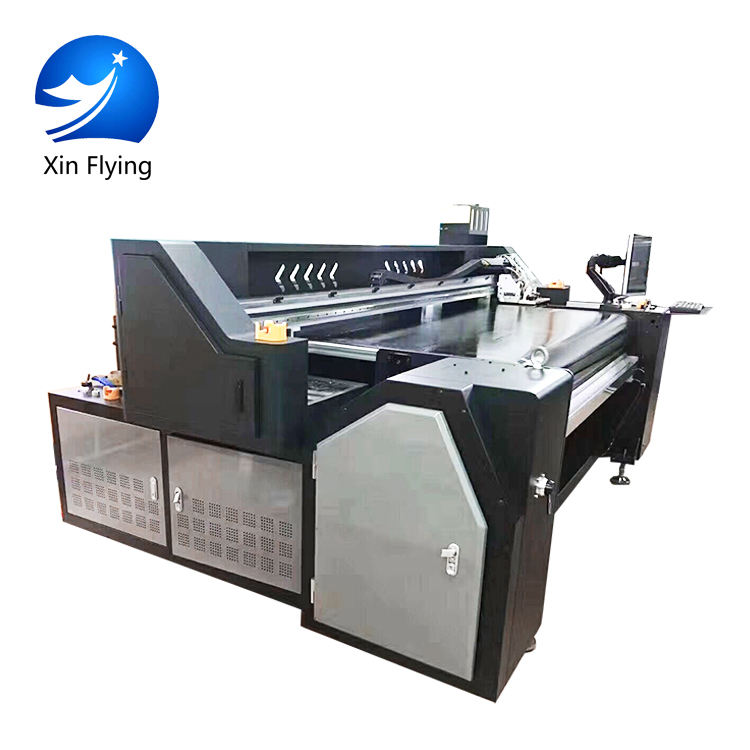 China Fabriek 45-75 <span class=keywords><strong>m</strong></span>²/uur Direct Textiel <span class=keywords><strong>Printer</strong></span> Digitale Automatische Inkjet Printing Machine Prijs