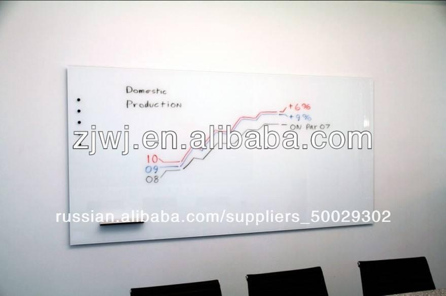 jiangyin секторов чистой erasable стекло доски маркером