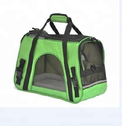 Dog soft sided comfort pet carrier parts