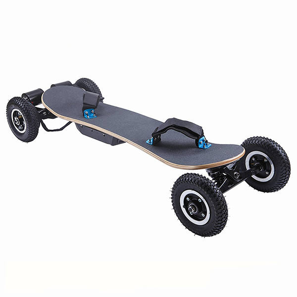 Off road <span class=keywords><strong>skate</strong></span> elétrico motor Duplo mountain board longboard da forma legal