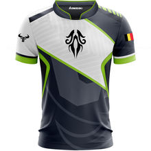Wholesale gaming clothes 2019 e-sports uniform kits all over printed e sports jersey