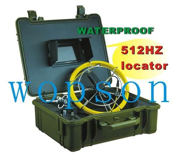 Le drainage plus professionnel et fiable et le système d'inspection de pipe avec Caméra <span class=keywords><strong>en</strong></span> <span class=keywords><strong>acier</strong></span> inoxydable