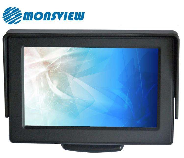1080 p Câmera Do Carro Backup 4.3 polegada TFT LCD Monitor