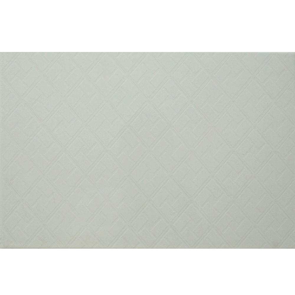 HS-4966 ceramic wall tiles 20x30 white wave 6mm thickness
