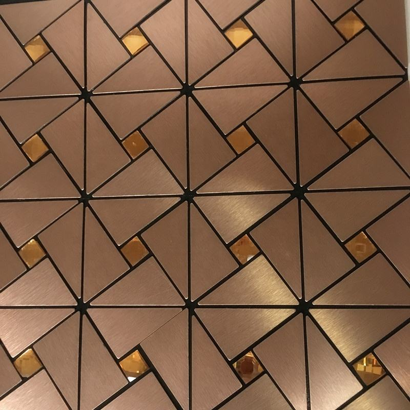beatiful aluminum mosaic tile for home decoration