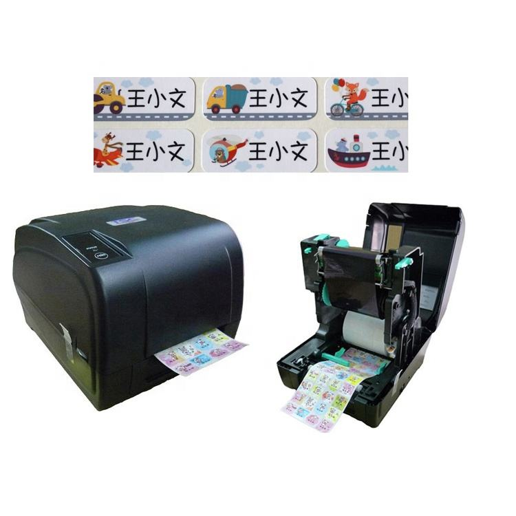 Hot Sale Made in TAIWAN Name Sticker Printer Label Sticker Barcode Printing Machine For Student Children kindergarten Kids