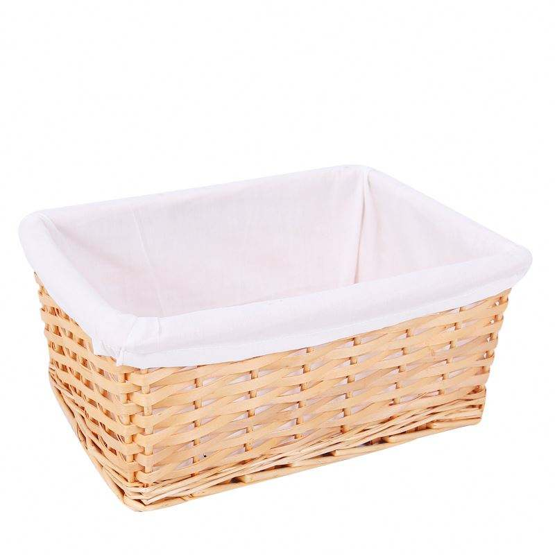 Handmade Corner Wicker Storage Basket