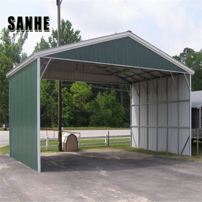 China steel portable prefab garage carport kits for sale