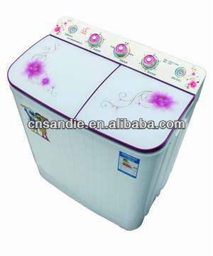 4.0 kg de doble bañera semi automático de alta calidad de lavado de plástico de la máquina