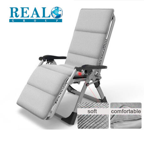 Best sale luxury metal recliner zero gravity folding camping chair with footrest wholesale