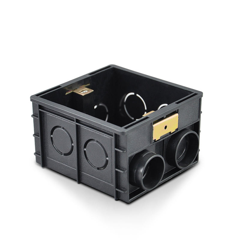 Factory Price High Quality Wall Switch PVC junction box black color 86 style